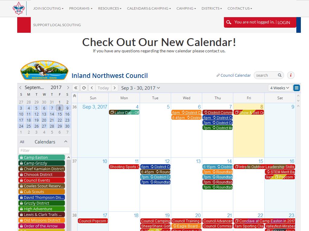 Online Calendar 2014-2019 gallery bsa – Teamup Calendar – Shared online calendar for groups