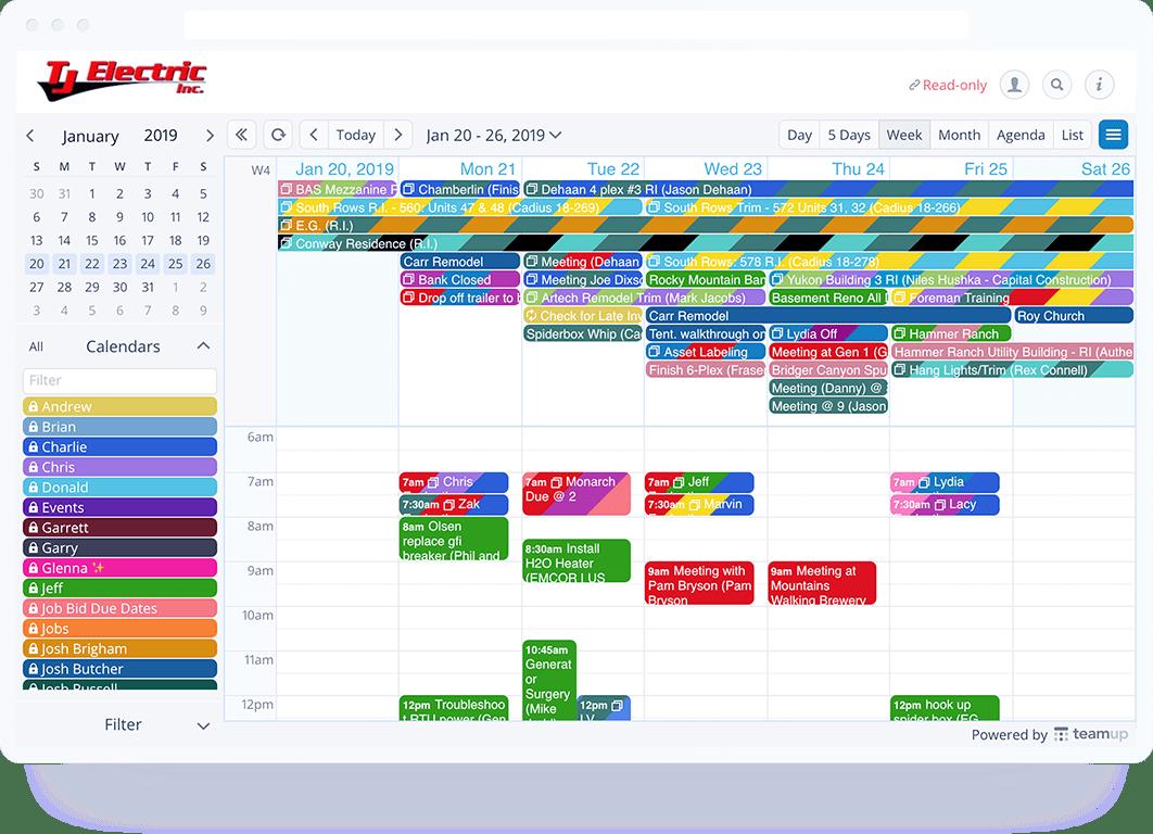 Miraculous Schedule Work Teamup Calendar Shared Online Calendar For Inzonedesignstudio Interior Chair Design Inzonedesignstudiocom