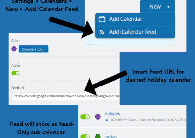 Add Holiday Feed
