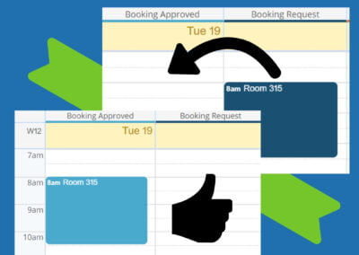 Move event from one calendar to another in Scheduler view