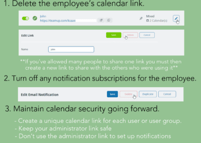 How to remove a user from your Teamup calendar