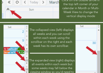 How to set the vertical display mode on your Teamup calendar