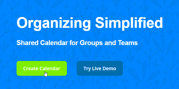 create calendar new